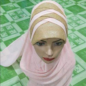 Colorful hijabs design